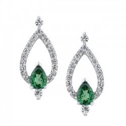 Tsavorite Earrings - 7245N