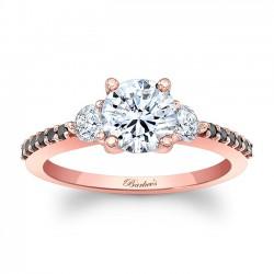 Rose Gold Bridal Set 7539SPBK