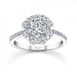 Flower Engagement Ring 7661L