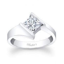 Princess Cut Solitaire Ring - 7824L