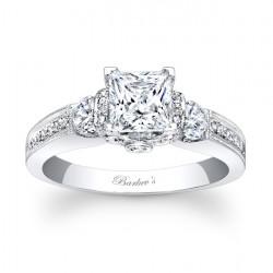Princess Cut Engagement Ring - 7832L