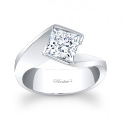 14K Diamond Engagement Ring - 7836L