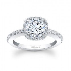 Halo Engagement Ring - 7838L