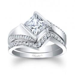 Princess Cut Bridal Set 7840S