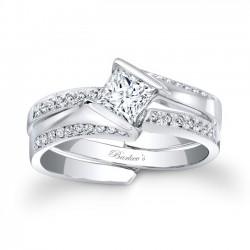 Princess Cut Bridal Set - 7880S