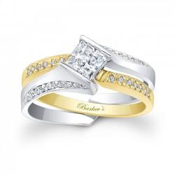 White & Yellow Gold Bridal Set 7880STY