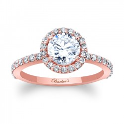 Halo Engagement Ring 7895LP