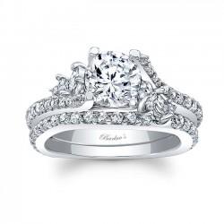 White Gold Marquise Bridal Set 7908S