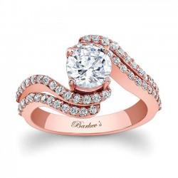 Rose Gold Engagement Ring - 7912LP