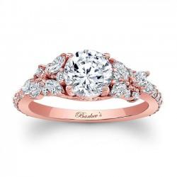 Rose Gold Engagement Ring 7932LP
