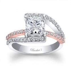 Princess Cut Engagement Ring 7935LT