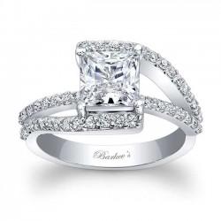 Princess Cut Engagement Ring 7935L
