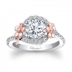 Floral Engagement Ring 7936LT