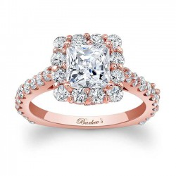 Princess Cut Engagement Ring 7939LP