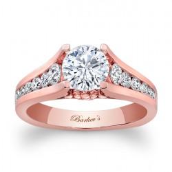 Rose Gold Engagement Ring 7940LP