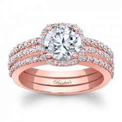 Rose Gold Bridal Set 7955SP
