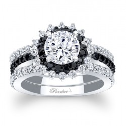 Black Diamond Bridal Set 7969S2BK