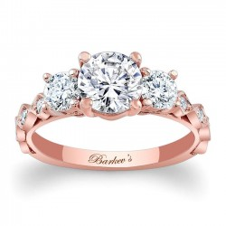 Rose Gold Engagement Ring 7973LP
