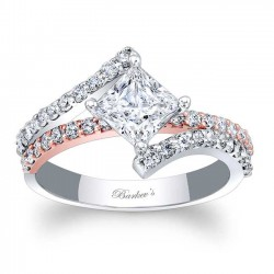 Princess Cut Engagement Ring 7976LT