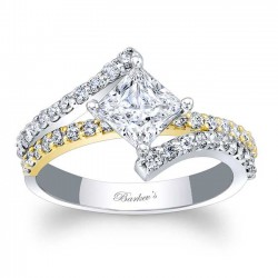 Princess Cut Engagement Ring 7976LTY