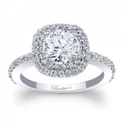 Halo Engagement Ring 7977L