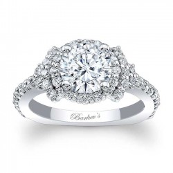 Halo Engagement Ring 7979L