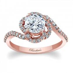 Rose Gold Engagement Ring 7982LP