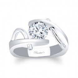 Solitaire Engagement Ring 8003L