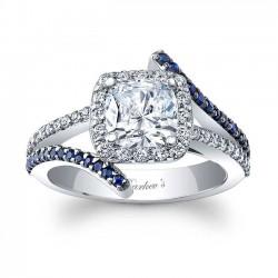 Cushion Cut Engagement Ring 8005LBS