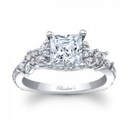 Princess Cut Engagement Ring 8012L