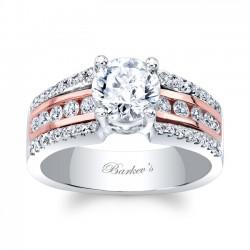 Rose Gold Engagement Ring 8016LT