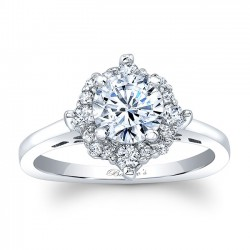 Halo Engagement Ring 8026L