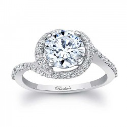 Halo Engagement Ring 8031L