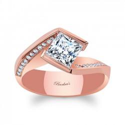 Princess Cut Engagement Ring 8032LP