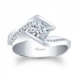 Princess Cut Engagement Ring 8032L