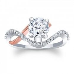 Unique Diamond Engagement Ring 8036LTRV