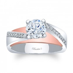 Two Stone Engagement Ring 8043LTP