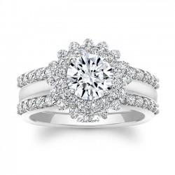 White Gold Bridal Set 8063S2