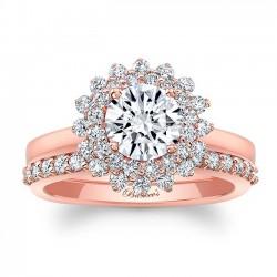 Rose Gold Bridal Set 8063SP