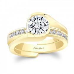 Yellow Gold Bridal Set 8092SY