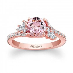 Morganite Engagement Ring MOC-7908LP