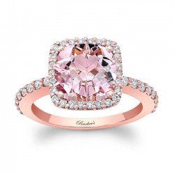 Morganite Engagement Ring MOC-8025LP