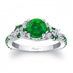 Tsavorite Engagement Ring TC-7932LTSV