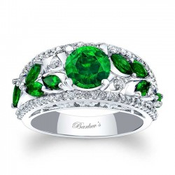 Tsavorite Engagement Ring TC-7984LTSV