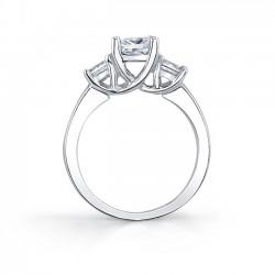 Three Stone Engagement Ring - 5022L
