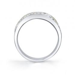 Tri Color Diamond Band - 6723L Profile