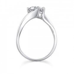 Solitaire Engagement Ring - 7623L Profile