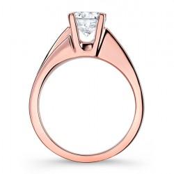 Rose Gold Engagement Ring - 7789LP Profile