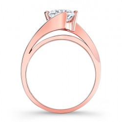 Rose Gold Engagement Ring - 7802LP