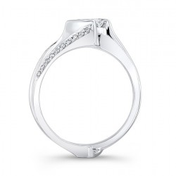 Princess Cut Bridal Set - 7880S Profile